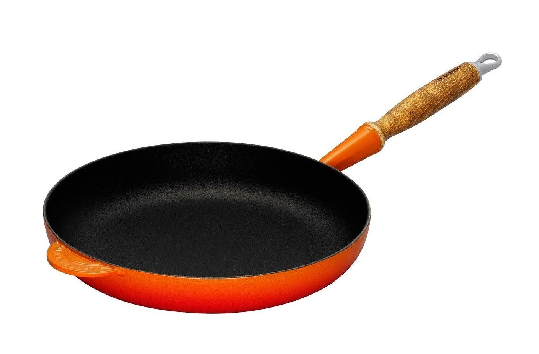 Le Creuset koekenpan Signature oranje-rood Ø 26 cm