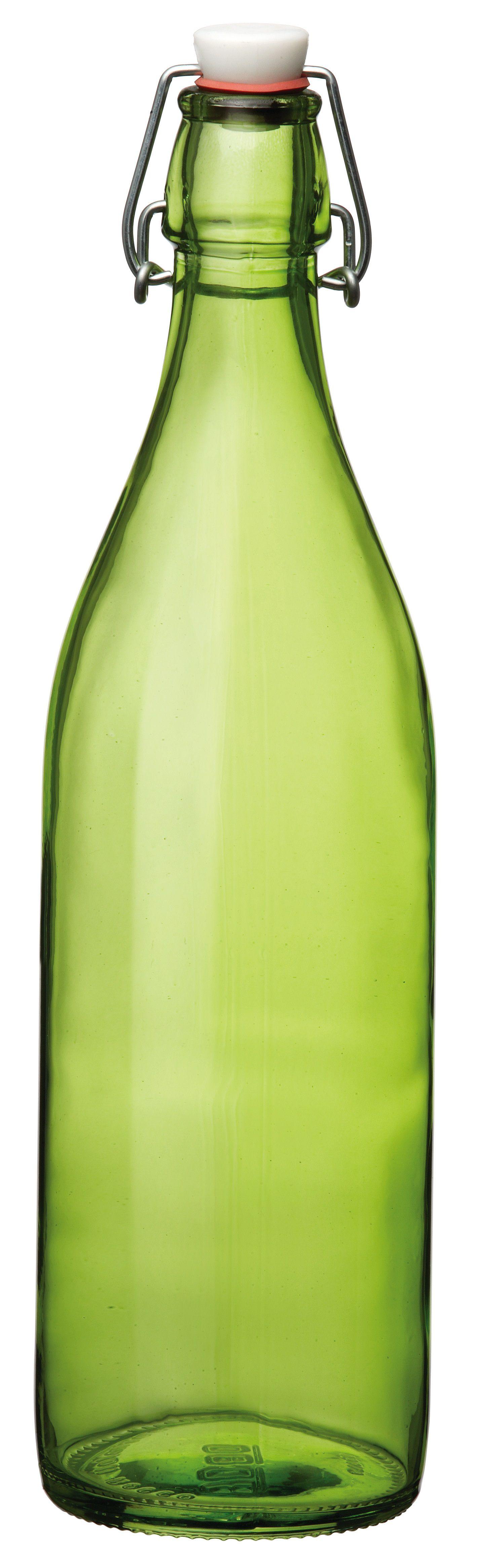 Bormioli beugelfles Giara groen