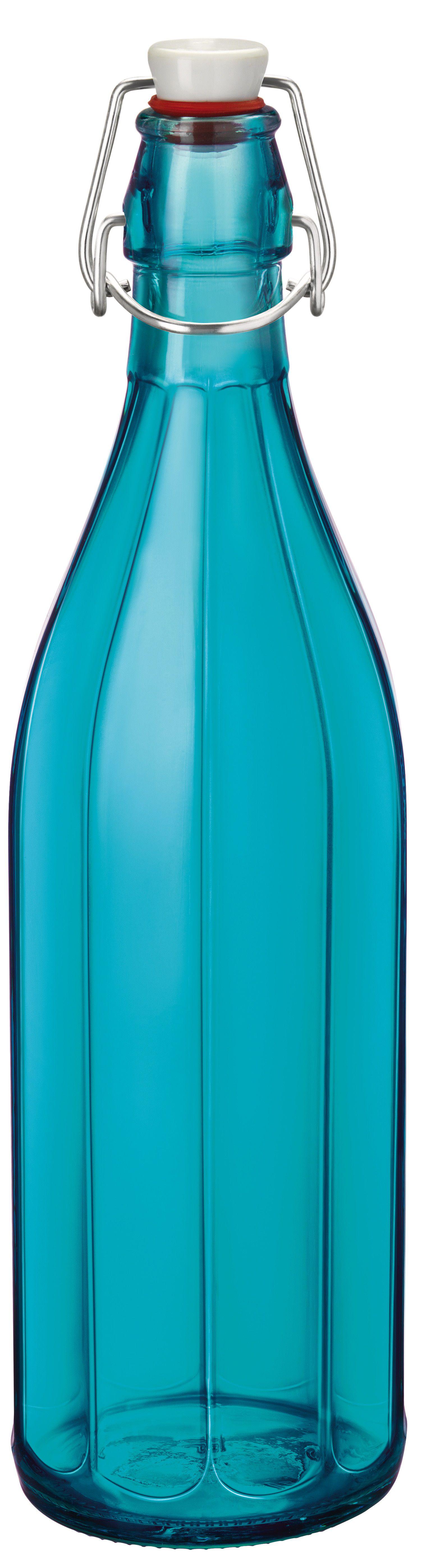 Bormioli beugelfles Oxford blauw 1 liter