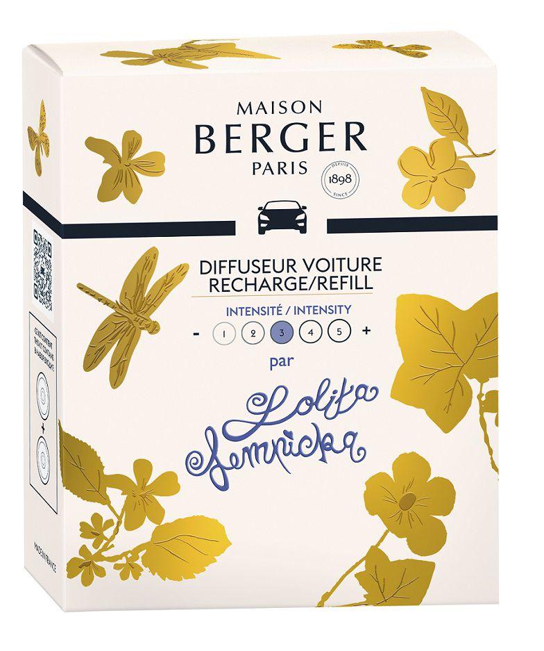 Maison Berger Autoparfum Navulling Lolita Lempicka - 2 Stuks