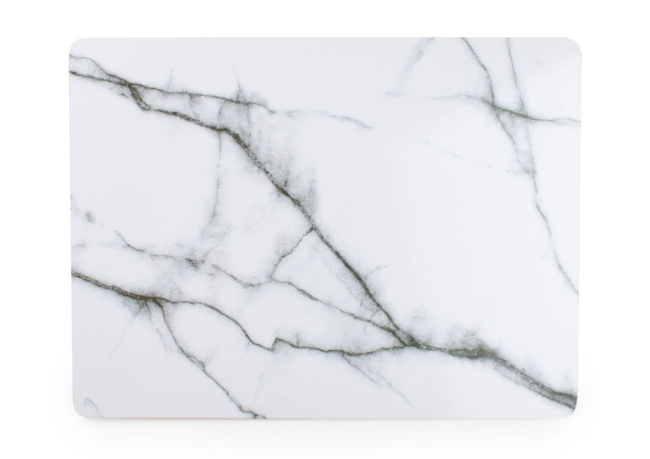Salt Pepper Placemat Marble Wit