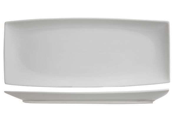 bord rechthoek avantgarde 34.5X14.5 cm