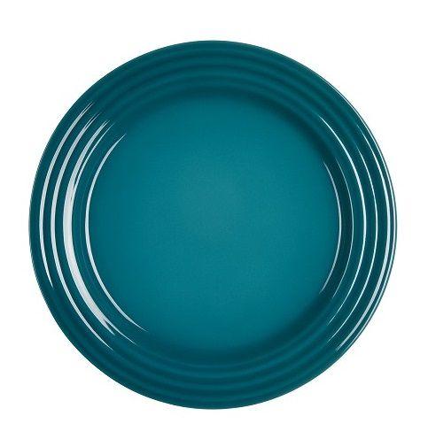 Le Creuset ontbijtbord deep teal Ø 22 cm