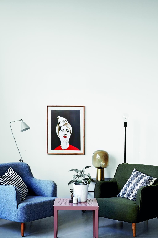 House doctor tafellamp note brons grijs designwonen for House doctor verlichting