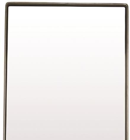 House doctor spiegel reflection mat zwart 80x35x4 cm for House doctor verlichting