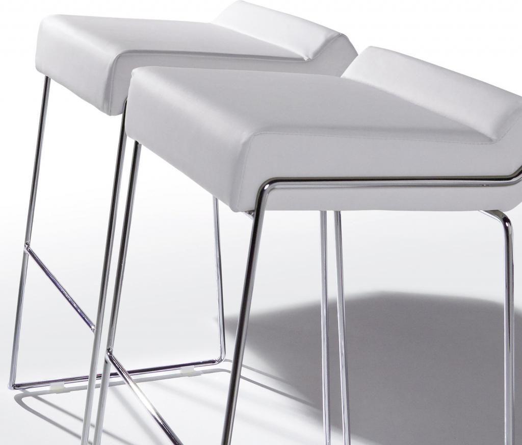 laforma barhocker tommy wei chrom kunstleder la forma. Black Bedroom Furniture Sets. Home Design Ideas