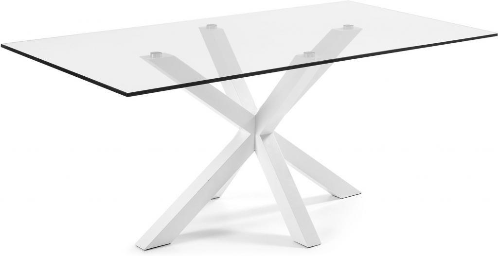 laforma esstisch arya wei glas epoxy 200x100 la forma. Black Bedroom Furniture Sets. Home Design Ideas