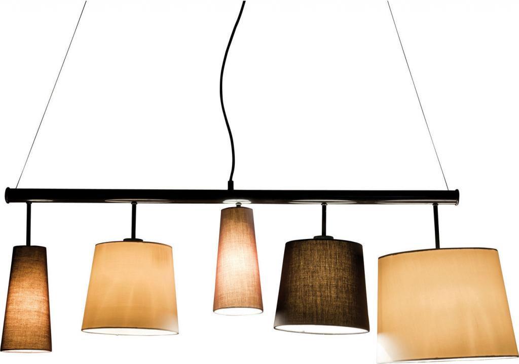 kare design hanglamp parecchi 160cm zwart meubelen verlichting. Black Bedroom Furniture Sets. Home Design Ideas