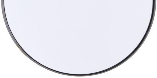 house doctor spiegel reflektion schwarz 40cm matt eisen. Black Bedroom Furniture Sets. Home Design Ideas