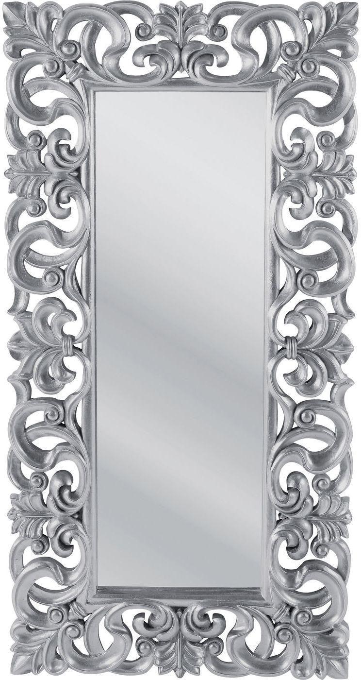 kare design spiegel italian baroque 180x90 zilver meubelen verlichting. Black Bedroom Furniture Sets. Home Design Ideas