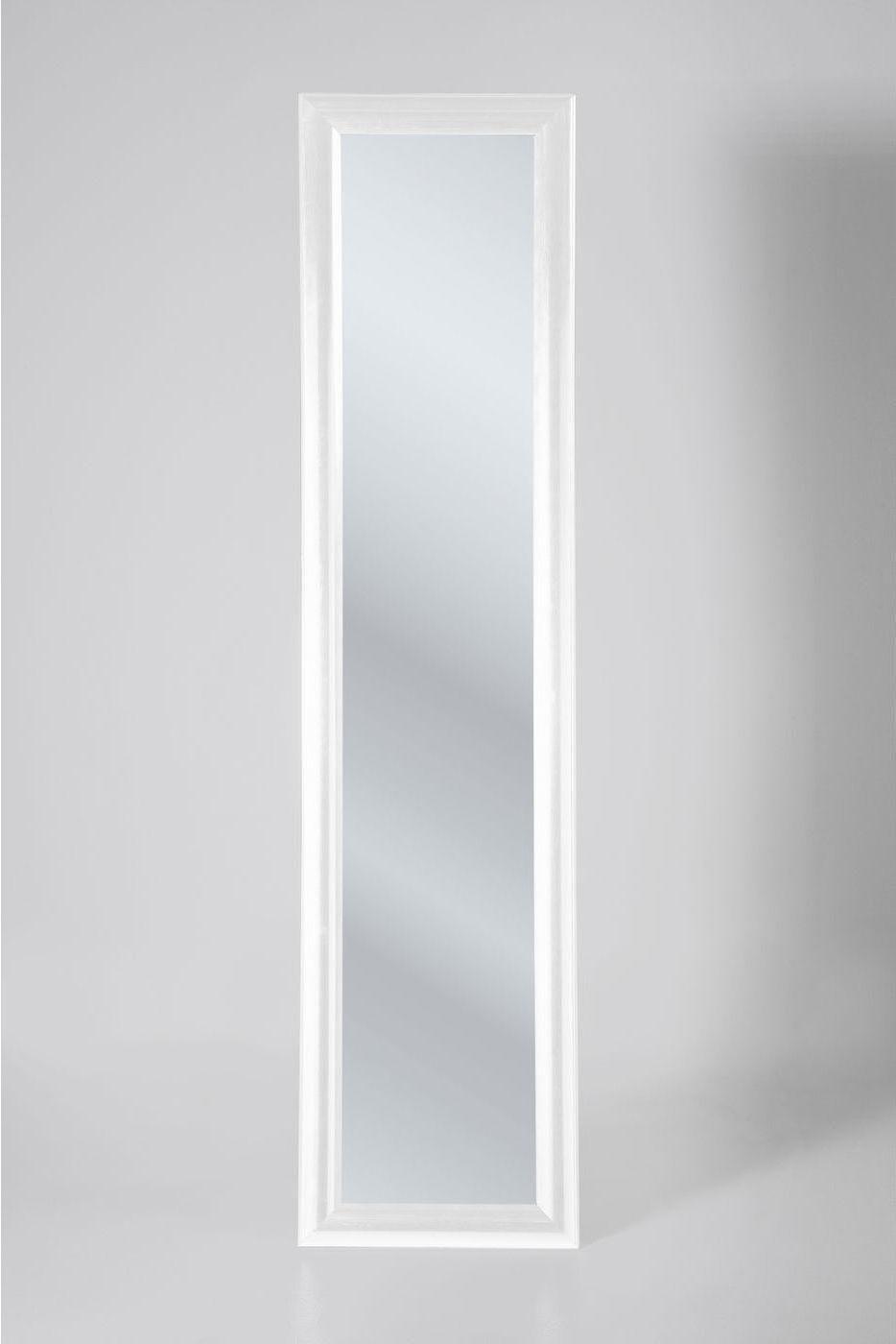 kare design staande spiegel modern living 170cm wit meubelen verlichting. Black Bedroom Furniture Sets. Home Design Ideas