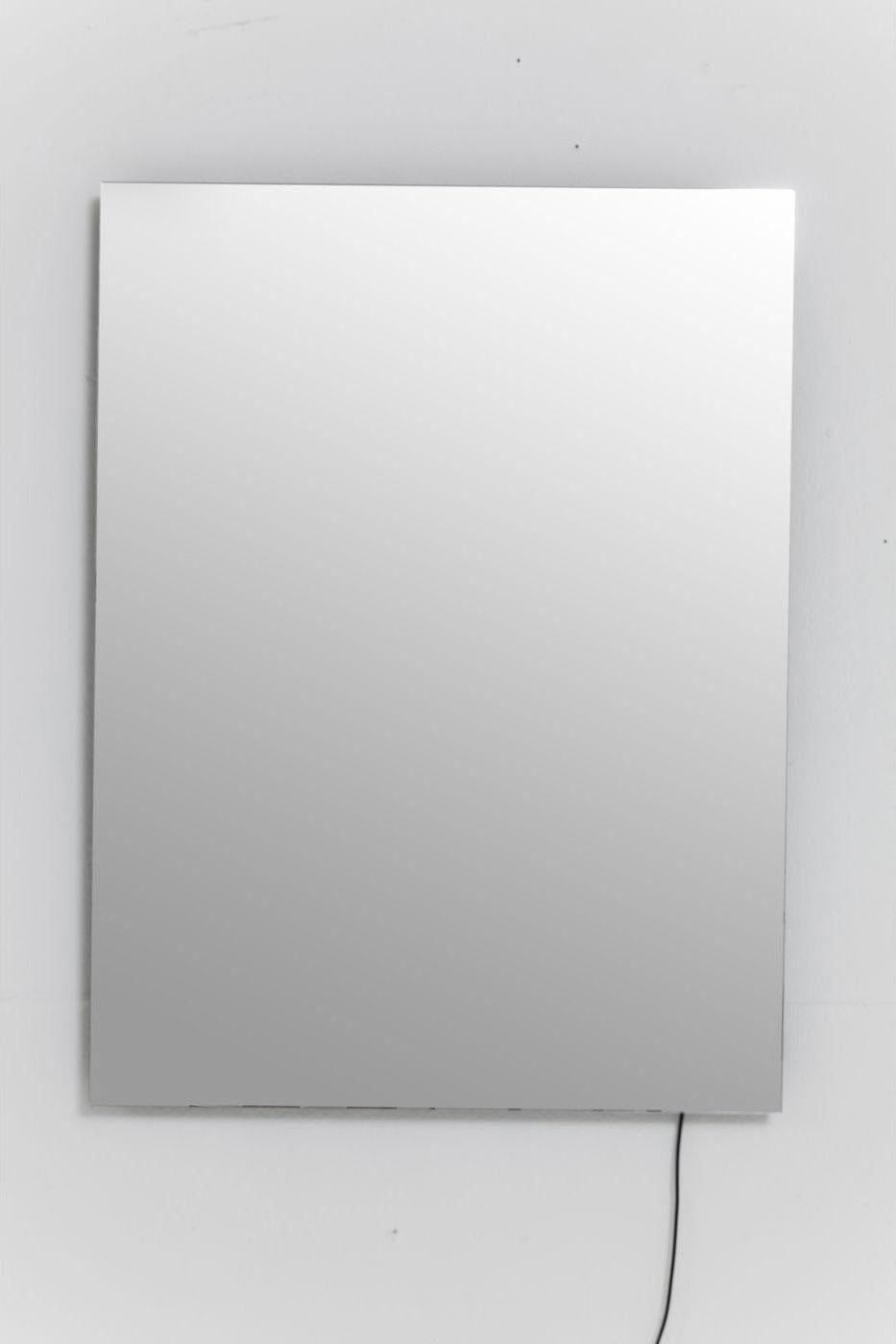 kare design spiegel infinity 80x60cm led meubelen verlichting. Black Bedroom Furniture Sets. Home Design Ideas