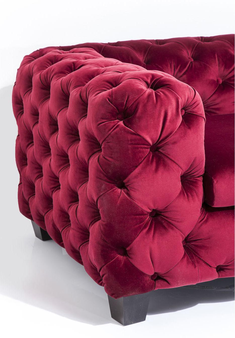 kare design bank my desire ruby rood 3 zits meubelen verlichting. Black Bedroom Furniture Sets. Home Design Ideas