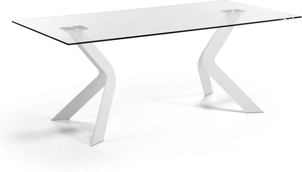 laforma esstisch westport wei transparent glas epoxy 200x100 la forma. Black Bedroom Furniture Sets. Home Design Ideas