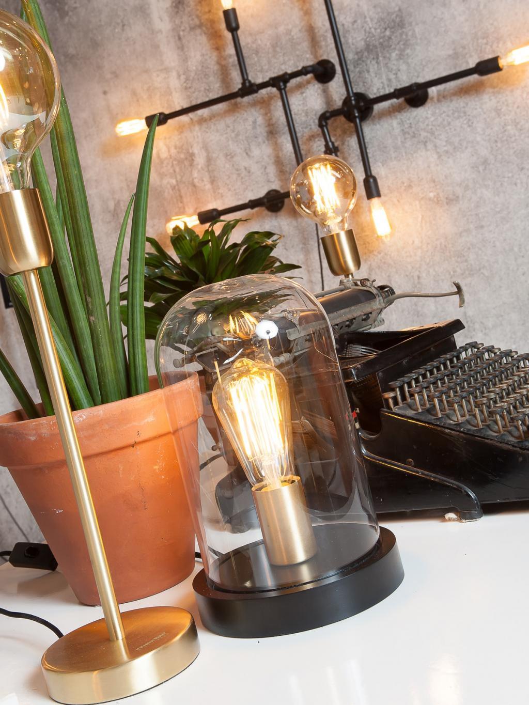 it 39 s about romi tafellamp seattle zwart meubelen verlichting. Black Bedroom Furniture Sets. Home Design Ideas