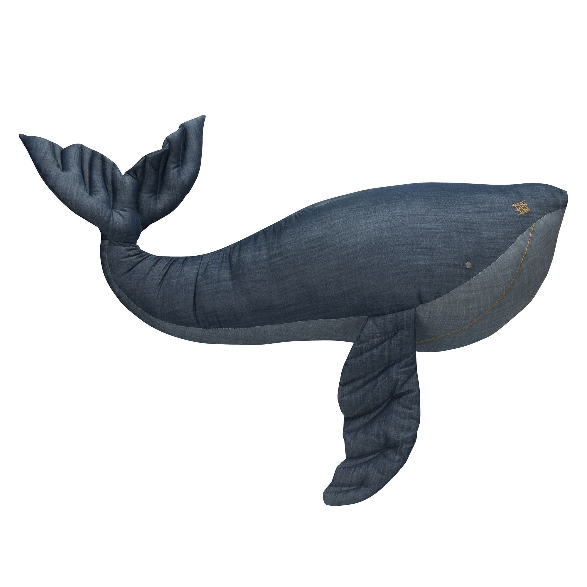 Stapelgoed cuddle WHALE XXL denim