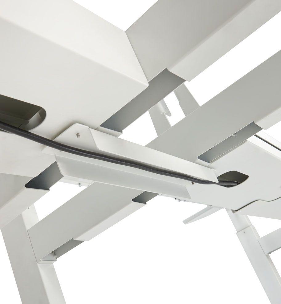 Elektrisch Duo Werkplek 2X 160x80cm Leverbaar In 30 Kleur Combinaties