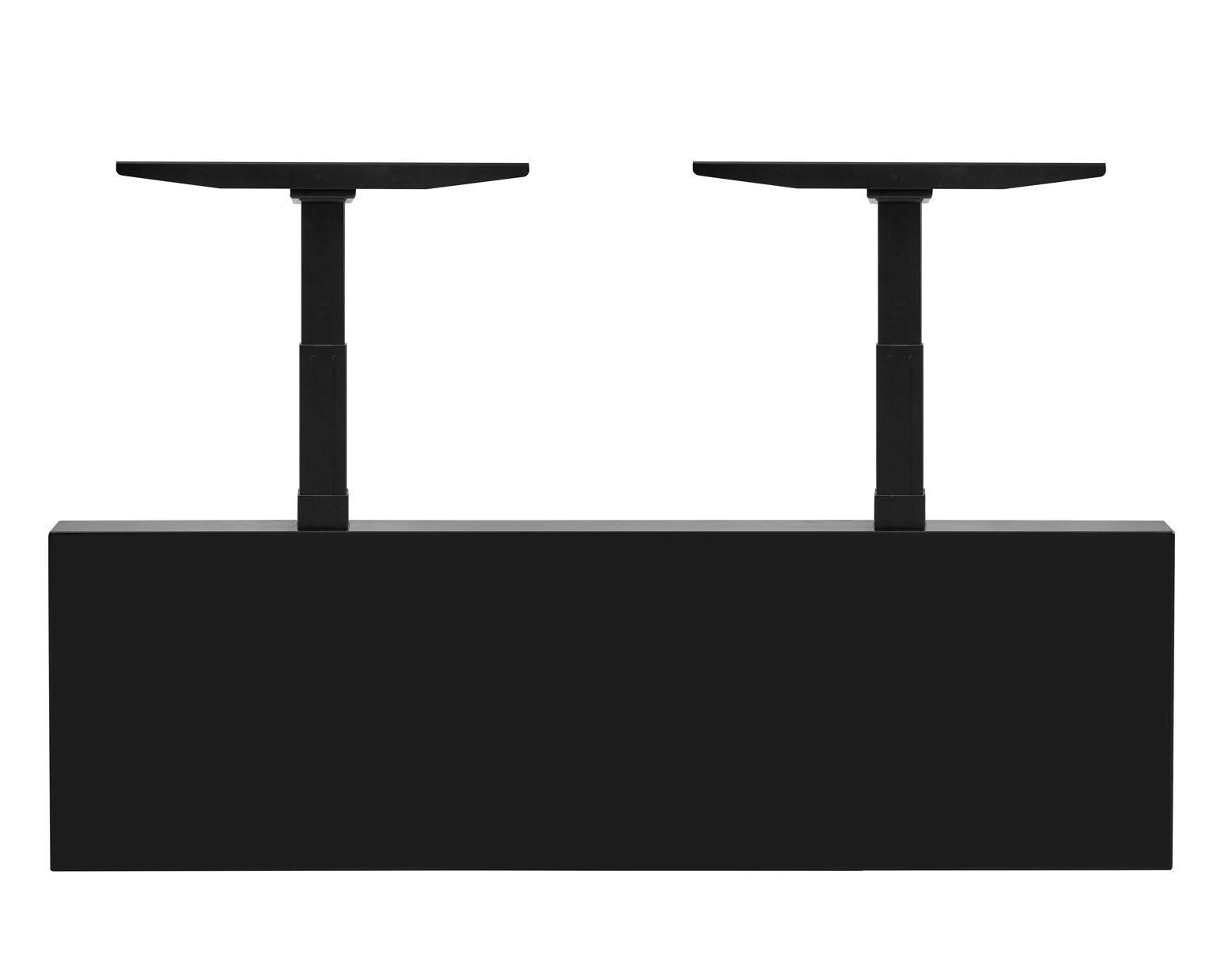 Elektrisch Duo Werkplek 2X 120x80cm Leverbaar In 30 Kleur Combinaties