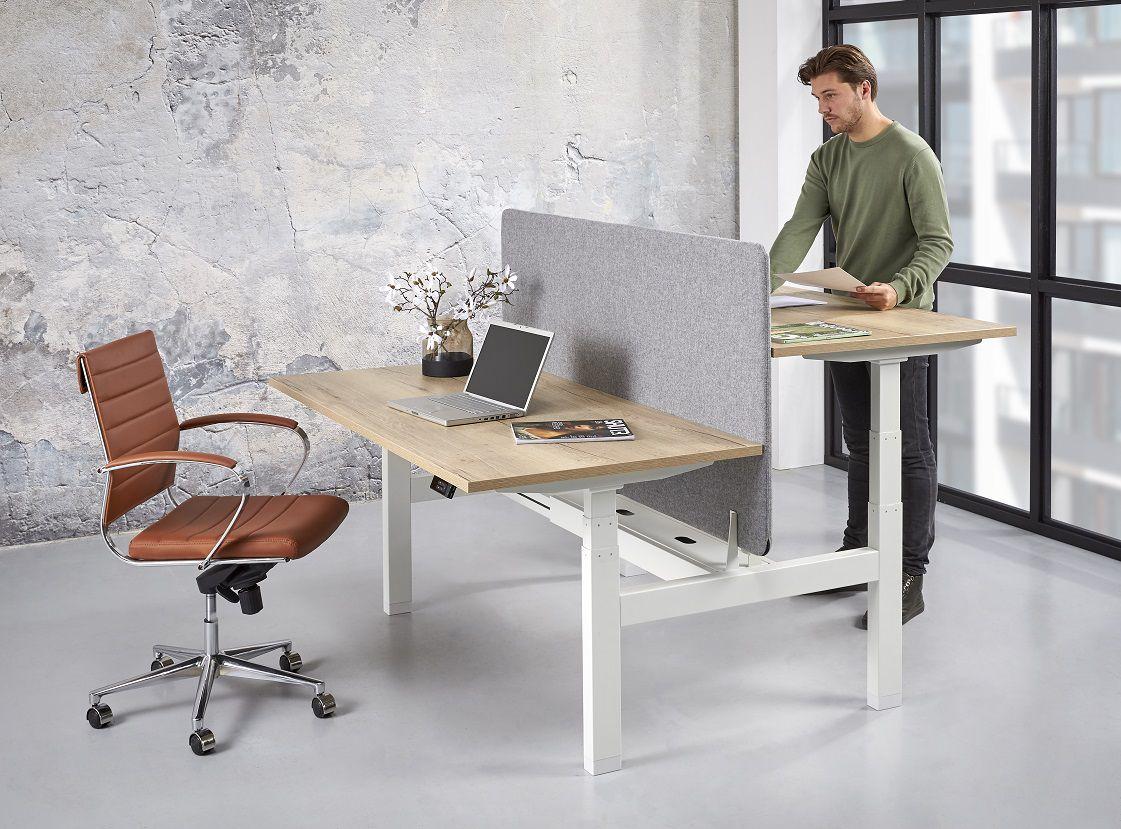 Elektrisch Duo Werkplek 2X 120x80cm