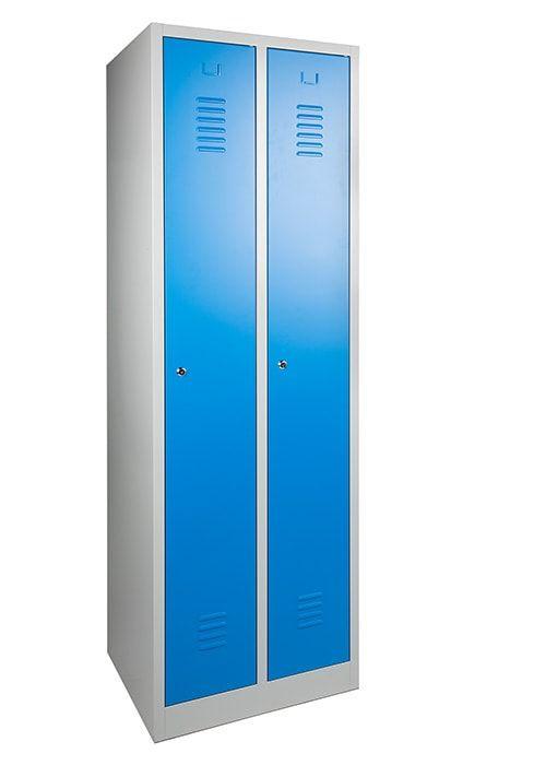 Garderobekast 2-deuren 180 x 60 x 50cm Leverbaar in 3 kleuren 2