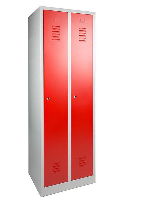 Garderobekast 2-deuren 180 x 60 x 50cm Leverbaar in 3 kleuren 3