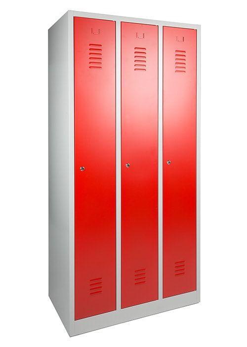 Garderobekast 3-deuren 180 x 90 x 50cm Leverbaar in 3 kleuren 2