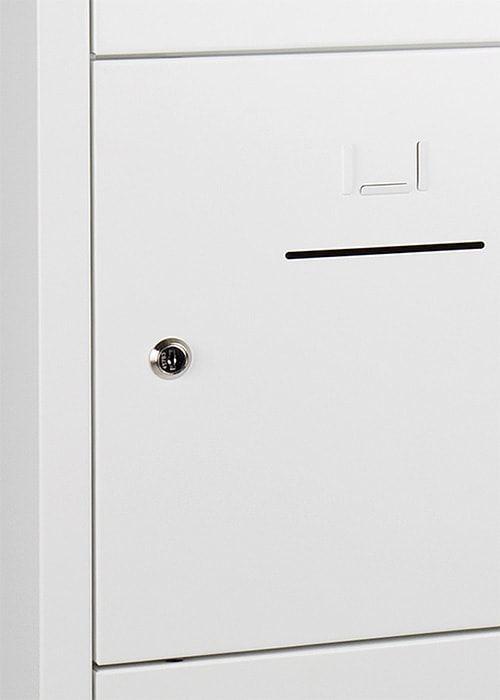 Lockerkast 10-deurs 190 x 80 x 45cm in 5 Kleur Combinaties 1
