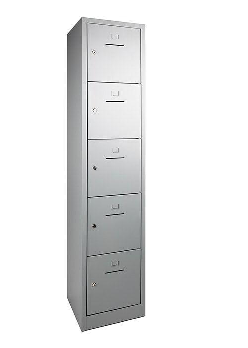 Lockerkast 5-deurs 190 x 41 x 45cm in 5 Kleur Combinaties 3