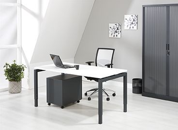 Bureau - Vergadertafel 180x80cm 44 Kleur Combinaties 1