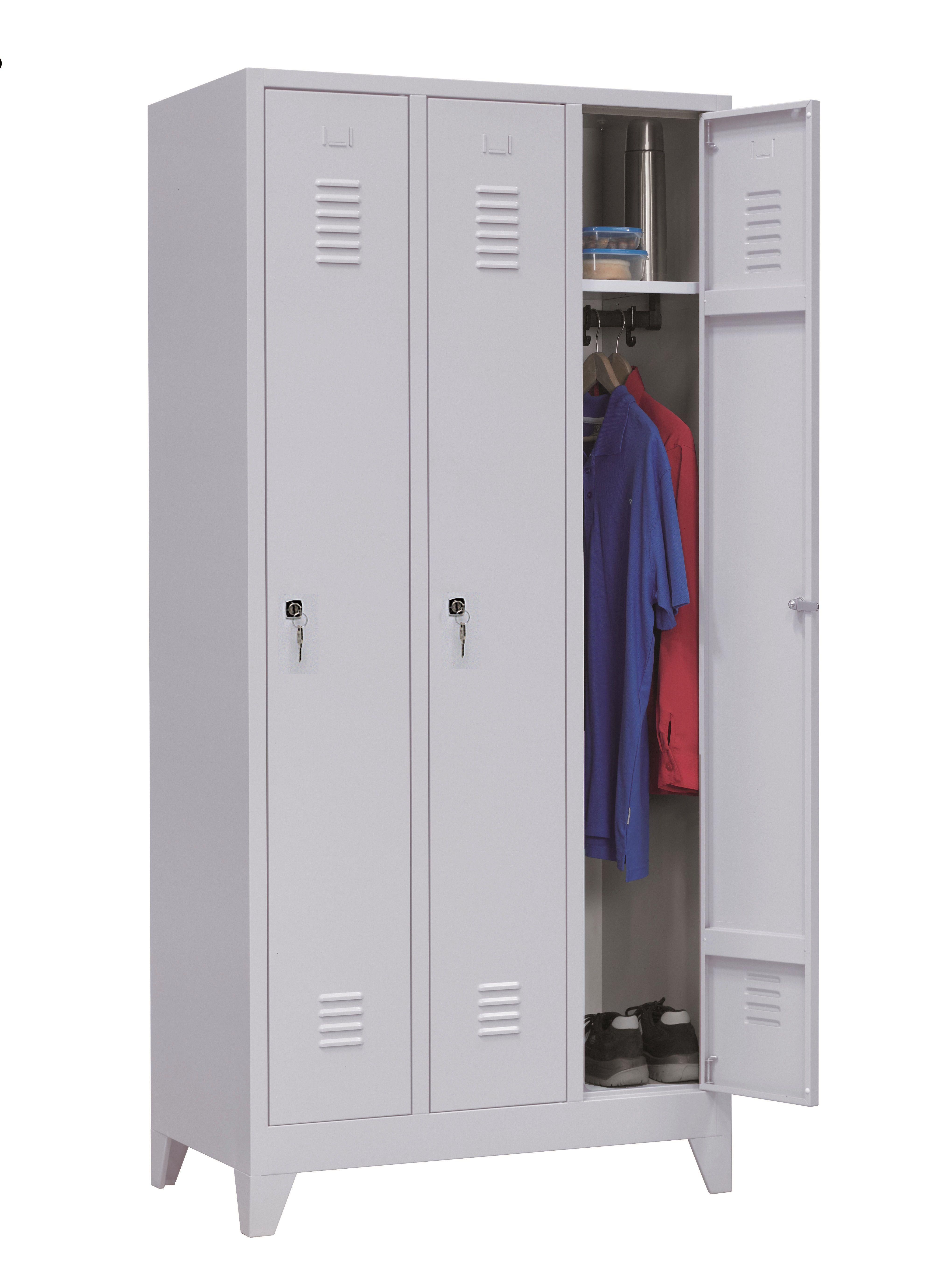 Garderobekast 3-deuren