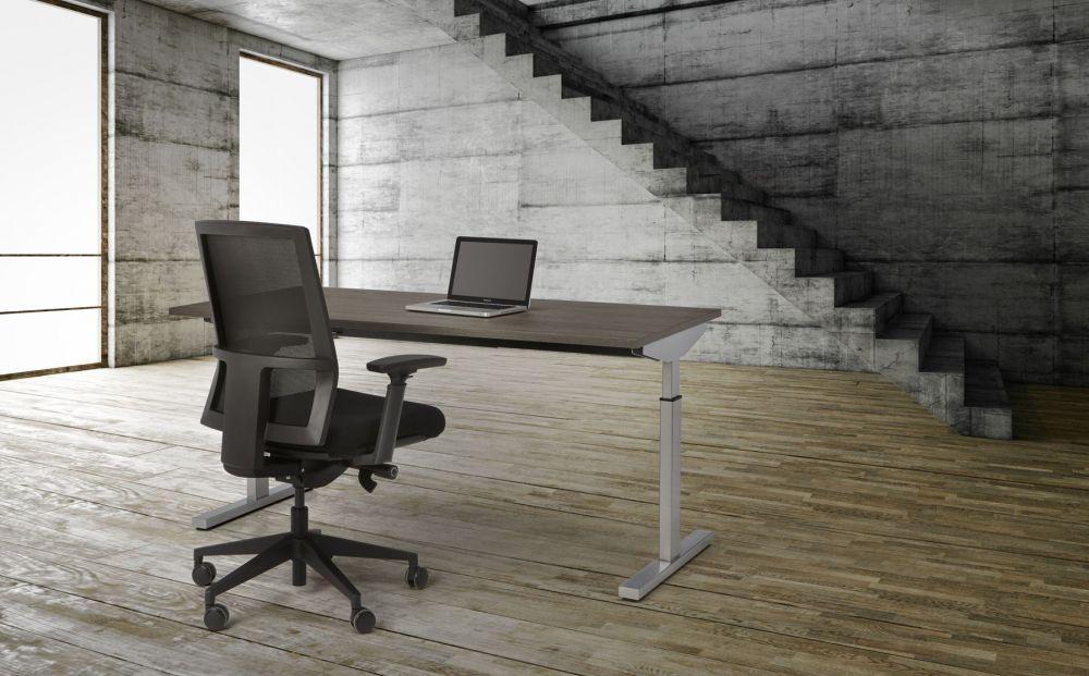 Bureau Easy 120x80cm Leverbaar in 30 Kleur Combinaties