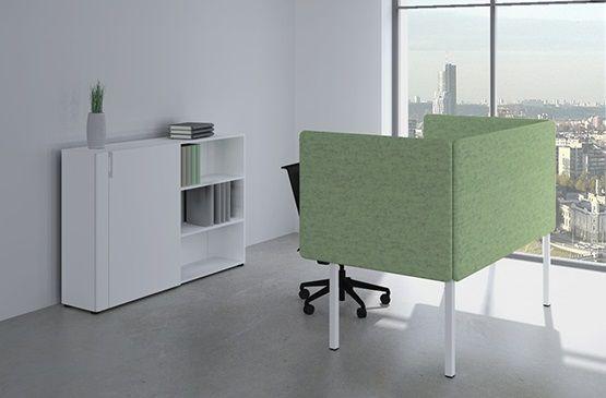 Bureau Wand Akoestische 53cm hoog, Polyester Leverbaar in 14 kleuren 5