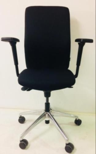 Bureaustoel Zwart Gebruikt 3