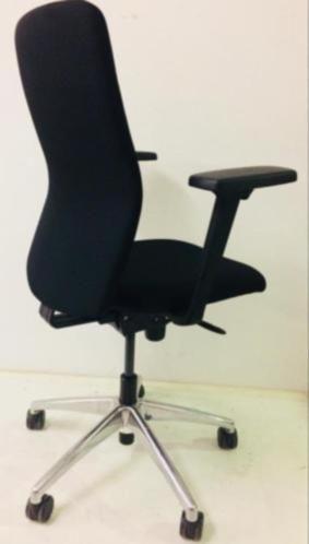 Bureaustoel Zwart Gebruikt 2