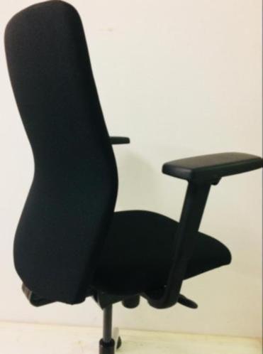 Bureaustoel Zwart Gebruikt6