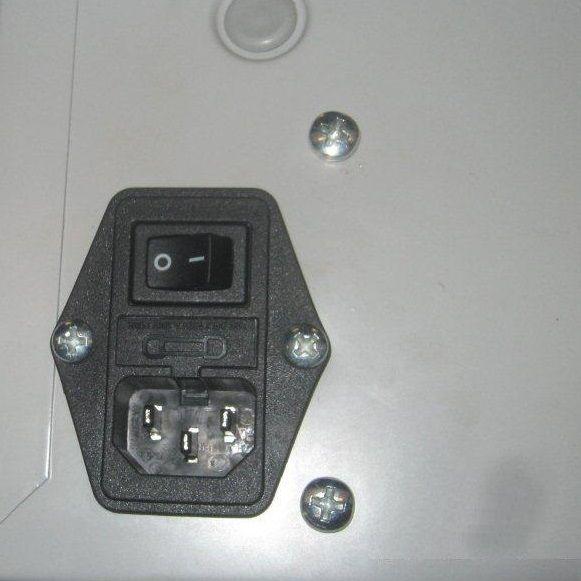 Laptopkast Notebookkast met 220 volt aansluiting 252