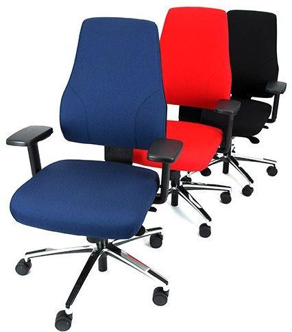 Bureaustoel Madrid Pro Leverbaar in 3 kleuren