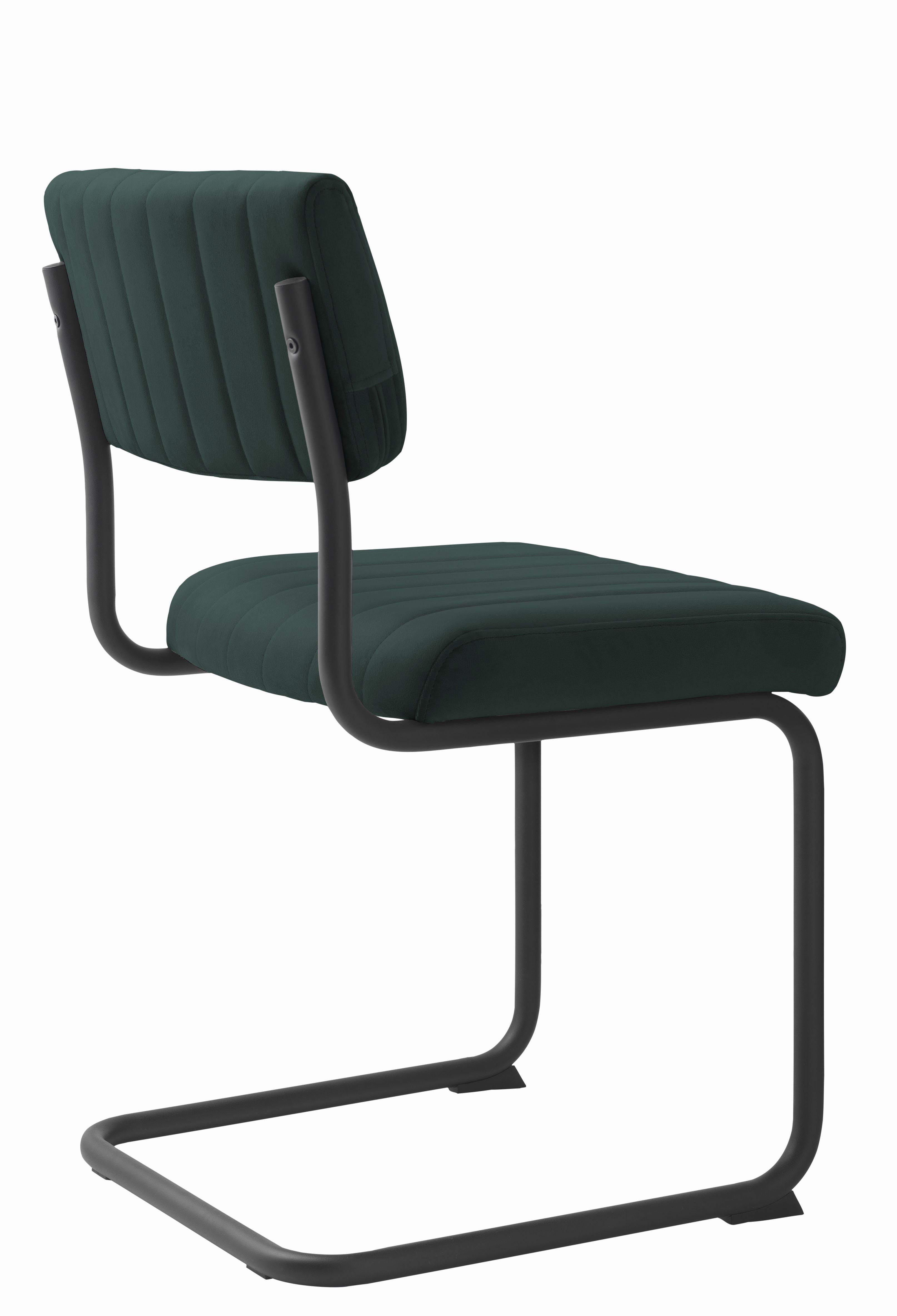 barney-groen-velvet-fluweel-stof-zwart-frame-operator-4