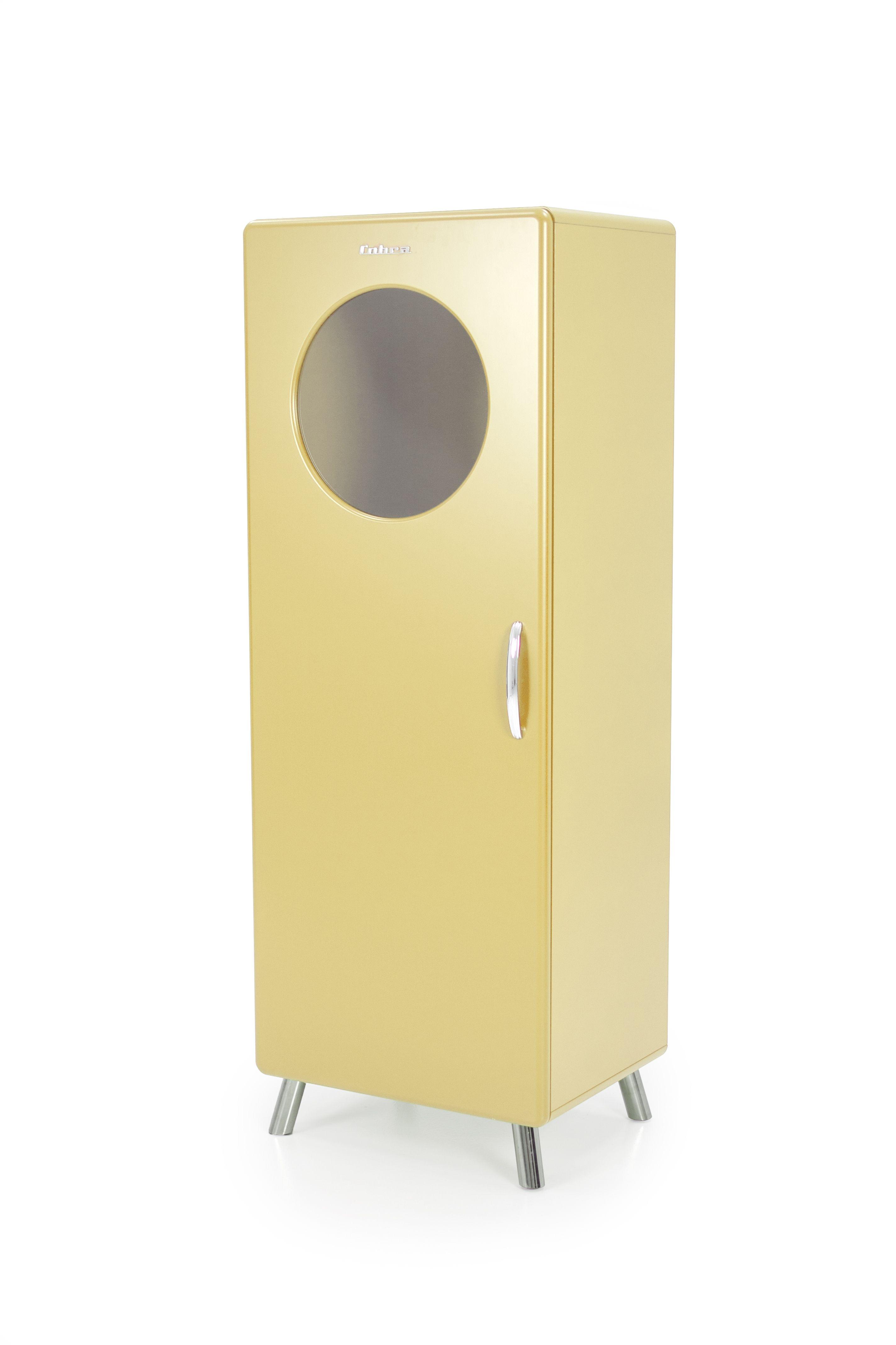 kirby-vitrine -geel