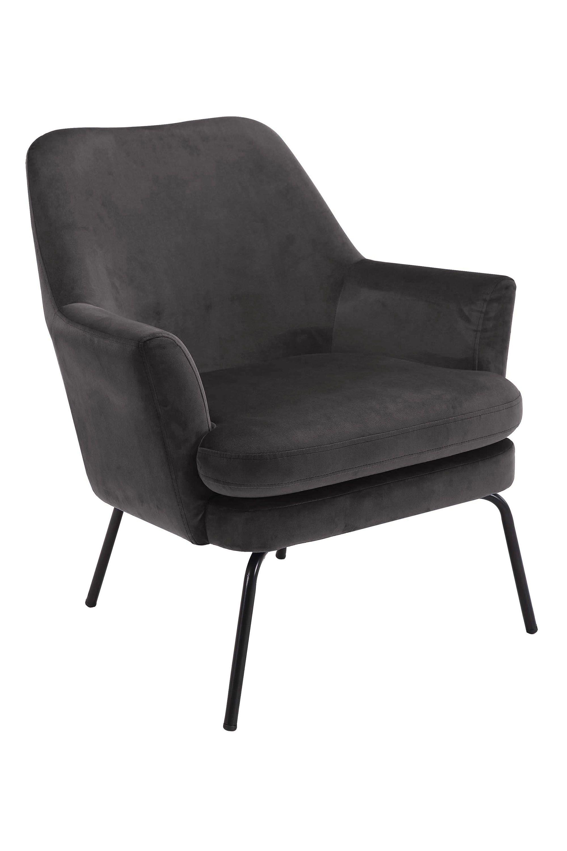 forlev-donker-grijs-velours-zwart-frame-1