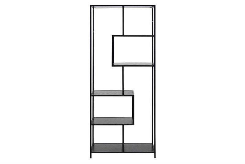zwart-melamine-boekenkast-sabro-6-planken-2