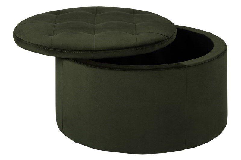 fures-hocker-pouffe-opbergruimte-deksel-velours-stof-groen-2