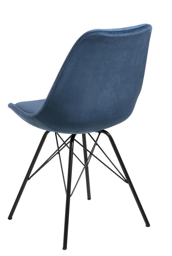 frostrup-blauw-velours-eetstoel-zwart-frame-2