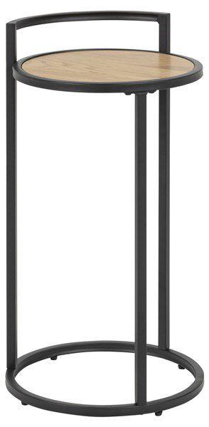 sabro-lampetafel-rond-33-cm--wild-eiken-zwart-frame-1