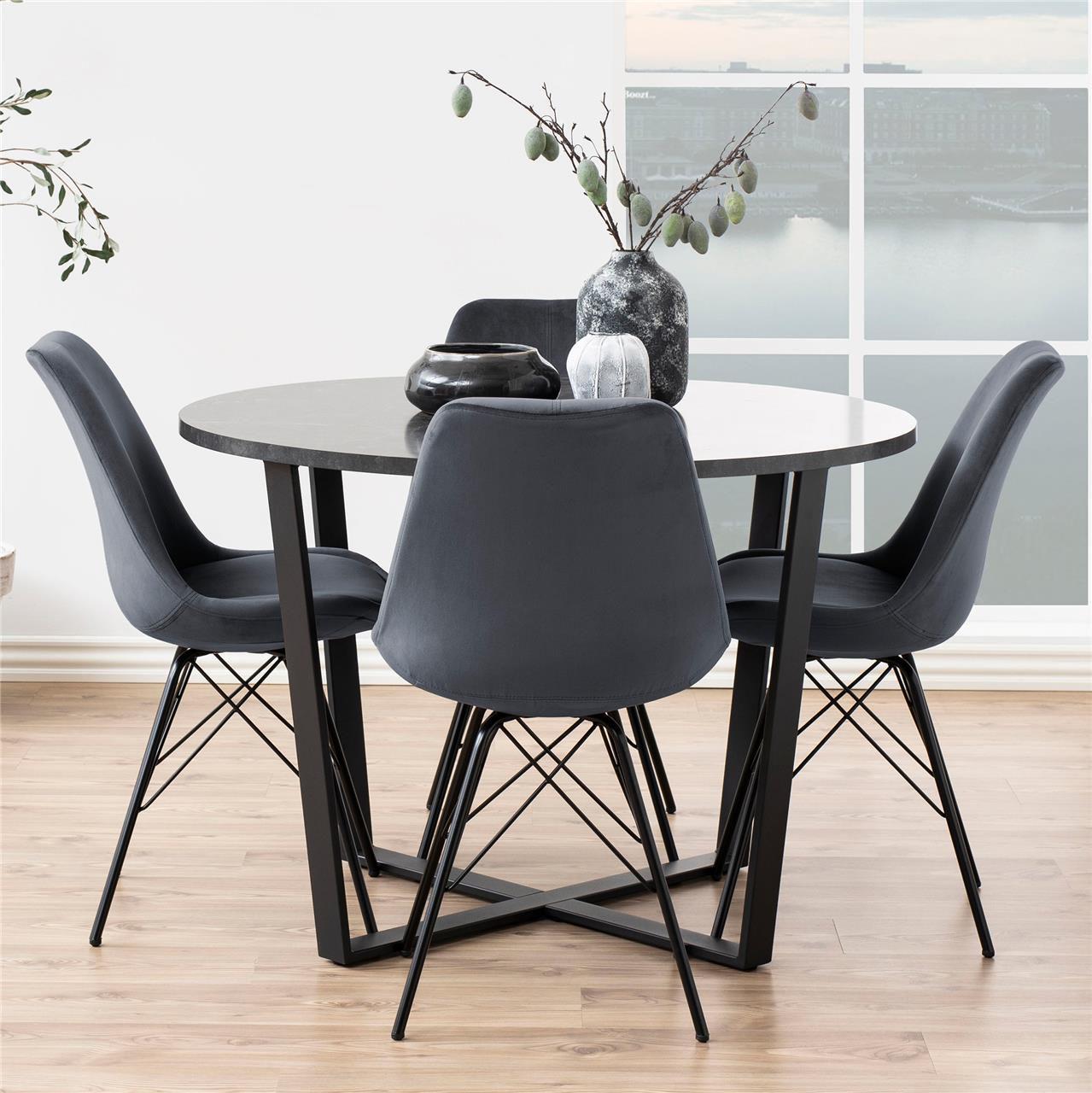 frostrup-grijs-velours-eetstoel-zwart-frame-4