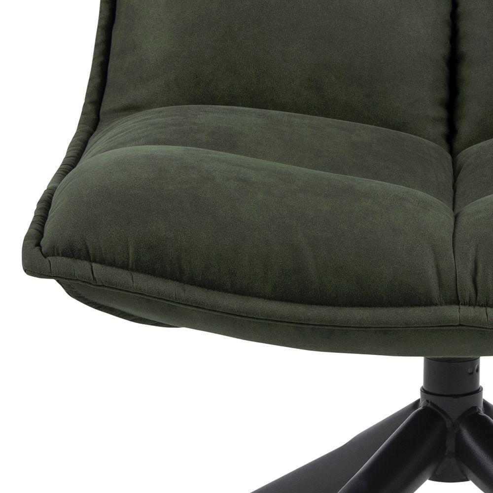 stormen-draai-fauteuil-groen-velours-stof-3