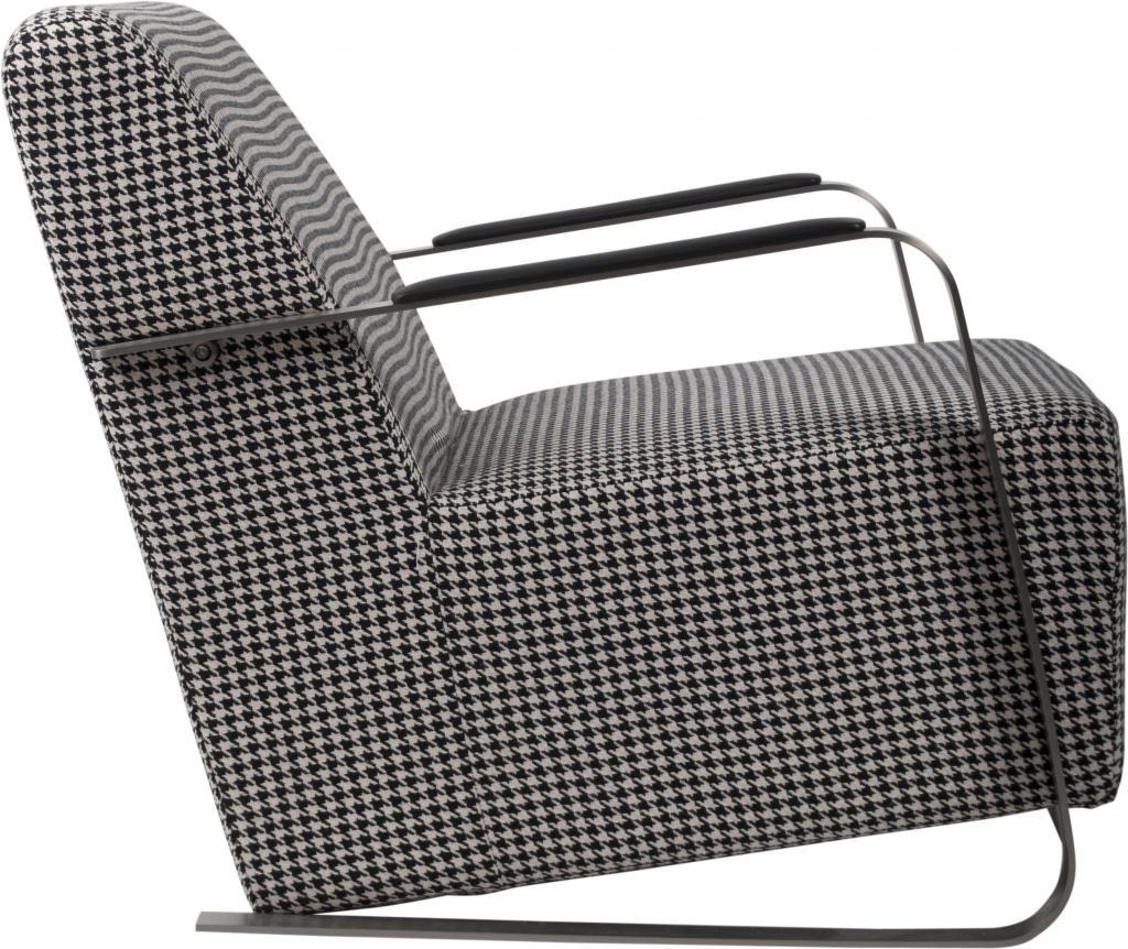 fauteuil adwin pied de poule zuiver. Black Bedroom Furniture Sets. Home Design Ideas