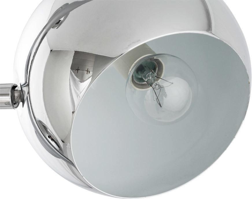 stehlampe globus chrom kokoon design kaufen wohn und lifestylewebshop. Black Bedroom Furniture Sets. Home Design Ideas