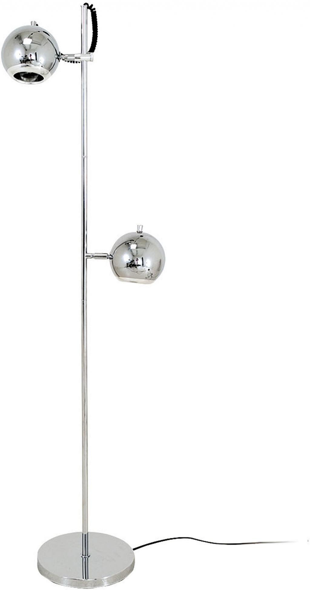 Vloerlamp retro 150cm chroom leitmotiv for Lampen 150 cm