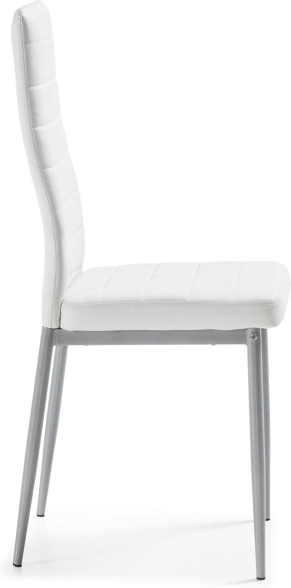 stuhl breef grau wei kunststoff la forma kaufen wohn und. Black Bedroom Furniture Sets. Home Design Ideas